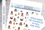 Platypus vacay Printable Functional Stickers