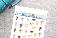 Axolotl Printable Functional Stickers