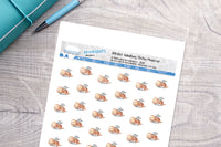 Adulting sloths Printable Functional Stickers