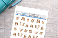 Significant otters Printable Functional Stickers