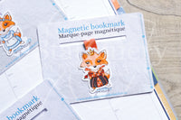 Foxy in Wonderland magnetic bookmark - Alice in Wonderland, Mad Hatter, Queen of Heart