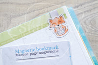 Candle addict Foxy magnetic bookmark, Foxy candle bookmark