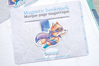 Super Foxy magnetic bookmark, Foxy hero bookmark