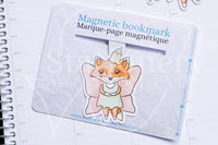 Fairy Foxy magnetic bookmark, Foxy fairies bookmark