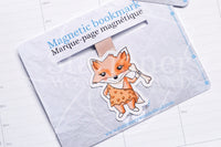Cavefox Foxy magnetic bookmark, Foxy dinosaur bookmark