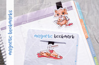 Bloody Foxy magnetic bookmark, Foxy horror bookmark