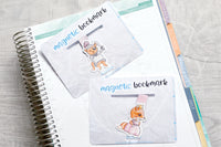 Happily Ever After Foxy magnetic bookmark, fairy tales Foxy bookmark