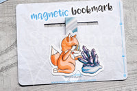 Foxy is such a gem magnetic bookmark, gemstone Foxy bookmark