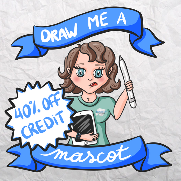 Draw me a mascot - Credit required