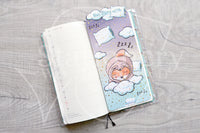 Slothy Foxy pencilboard - Hobonichi weeks, original and cousin