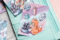 Foxy is such a gem hand-drawn journaling cards for memory planners 3x4""