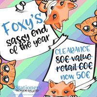 "CLEARANCE - Foxy's Sassy End of the Year - ""Advent"" Calendar READY TO SHIP"
