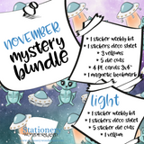 November Mystery Bundle - TN, EC, Mini HP, Personal, Hobonichi