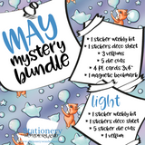 May Mystery Bundle - Hobonichi weeks, original, cousin, TN, Standard Vertical