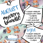 August Mystery Bundle - Hobonichi weeks, original, cousin, TN, Standard Vertical