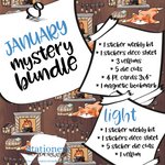 January Mystery Bundle - Hobonichi weeks, original, cousin, TN, Standard Vertical