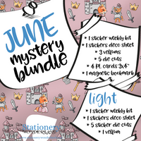 June Mystery Bundle - Hobonichi weeks, original, cousin, TN