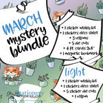 March Mystery Bundle - Hobonichi weeks, original, cousin, TN