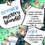 October Mystery Bundle - Hobonichi weeks, original, cousin, TN, Standard Vertical