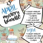 April Mystery Bundle - Hobonichi weeks, original, cousin, TN