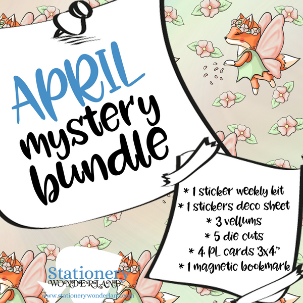 April Mystery Bundle - TN, EC, Mini HP, Personal, Hobonichi