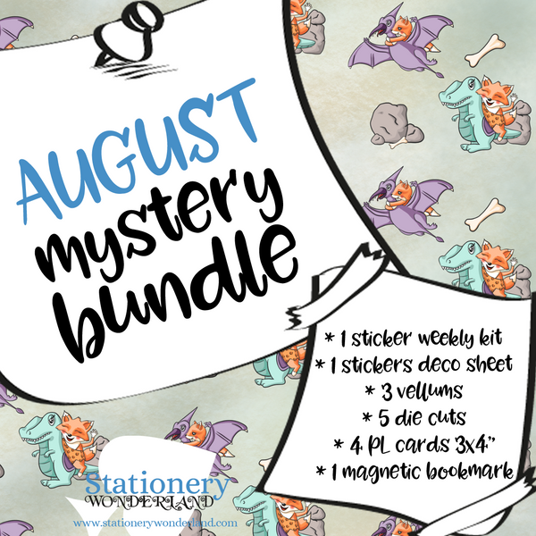 August Mystery Bundle - TN, EC, Mini HP, Personal, Hobonichi