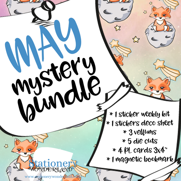 May Mystery Bundle - TN, EC, Mini HP, Personal, Hobonichi