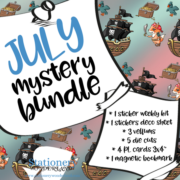 July Mystery Bundle - TN, EC, Mini HP, Personal, Hobonichi