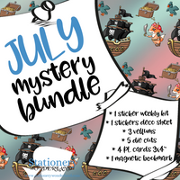 PRE ORDER - July Mystery Bundle - TN, EC, Mini HP, Personal, Hobonichi