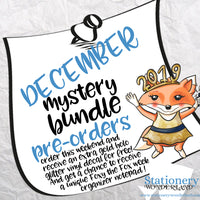PRE ORDER - December Mystery Bundle - TN, EC, Mini HP, Personal, Hobonichi