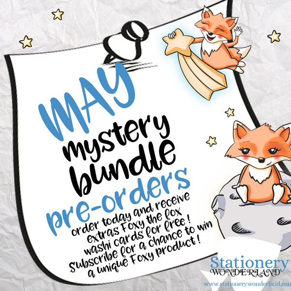 PRE ORDER - May Mystery Bundle - TN, EC, Mini HP, Personal, Hobonichi