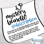 SUBSCRIPTION - Monthly Mystery Bundle - Hobonichi weeks, original, cousin, TN, EC