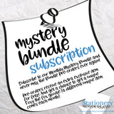 SUBSCRIPTION - Monthly Mystery Bundle - TN, EC, Mini HP, Personal, Hobonichi