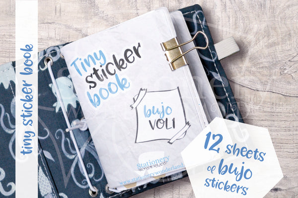Tiny sticker book - Bujo - VOL1