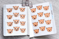 Kittymoji sticker book - Micro sized sticker book