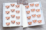 Foxymoji sticker book - Micro sized sticker book