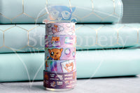 Kitty washi tower - Holographic acrylic washi stand