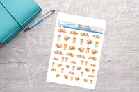 Teddy Bear Printable Decorative Stickers