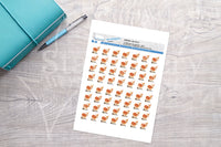 Oh Deer Printable Decorative Stickers