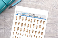 Otter Printable Decorative Stickers