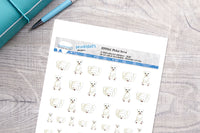 Polar Bear Printable Decorative Stickers