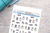Penguins Printable Decorative Stickers