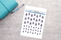 Gorillas Printable Decorative Stickers