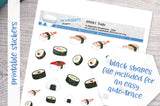 Sushi Printable Decorative Stickers