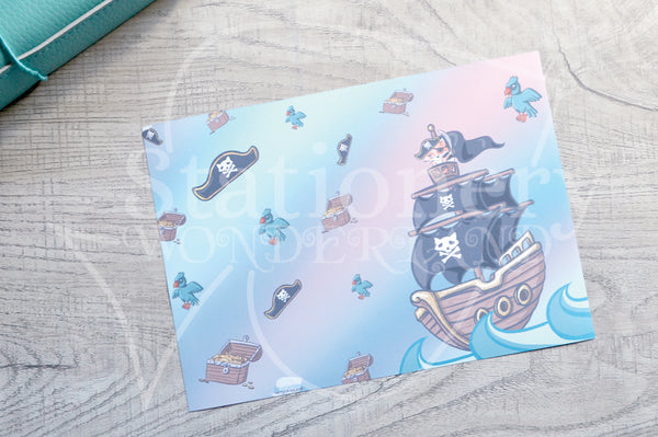 Pirate Foxy vinyl dashboards
