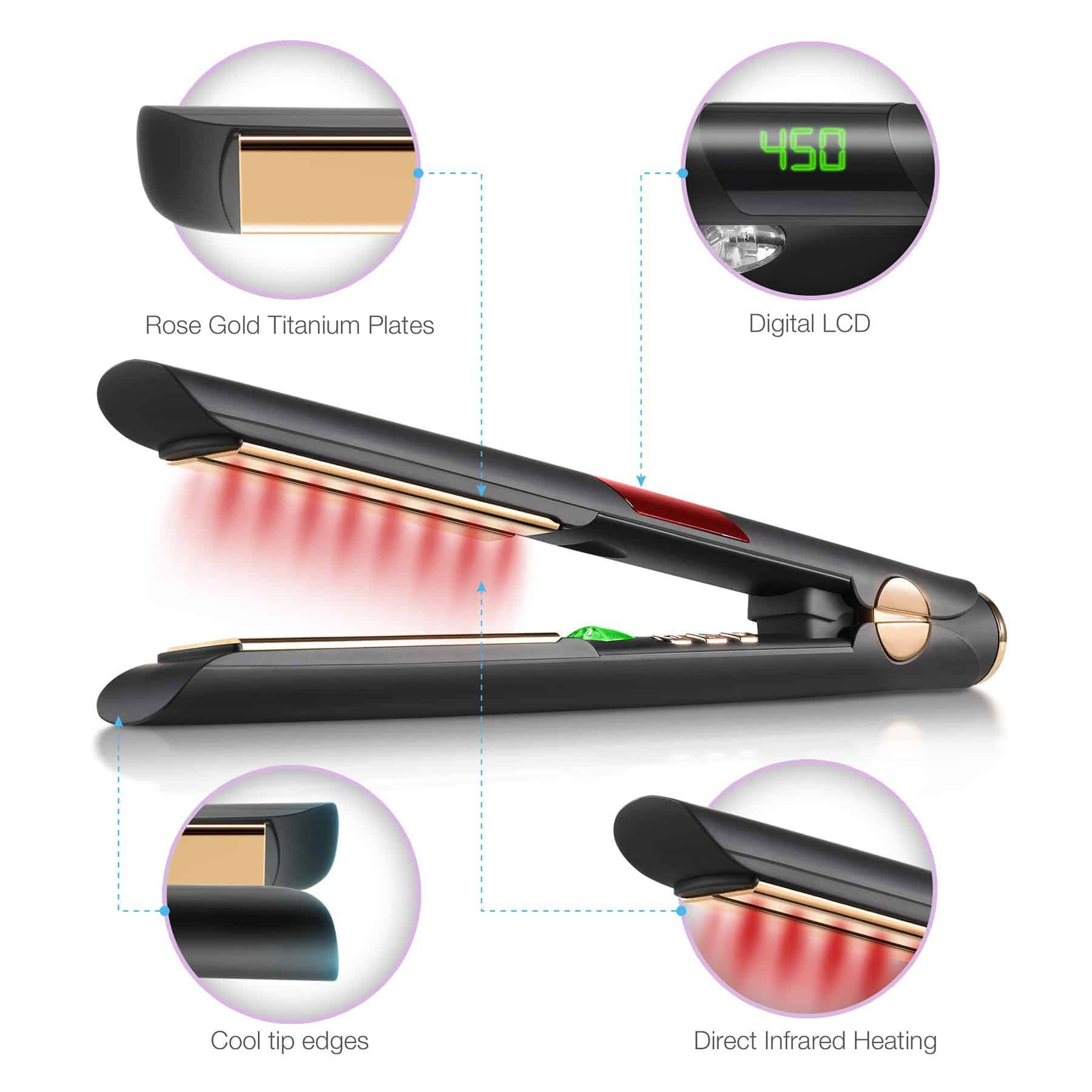 IR2 Ionic Infrared Flat Iron