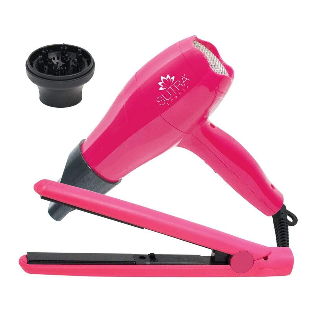 Travel Set Mini Straightener + Mini Blow Dryer