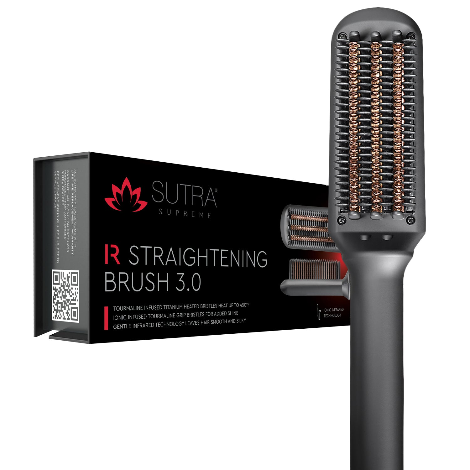 Infrared Straightening Brush 3.0