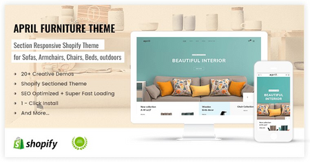 APRIL#11 - Elegant theme for furniture store