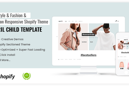 APRIL#02 - Amazing theme for Fashion Shop